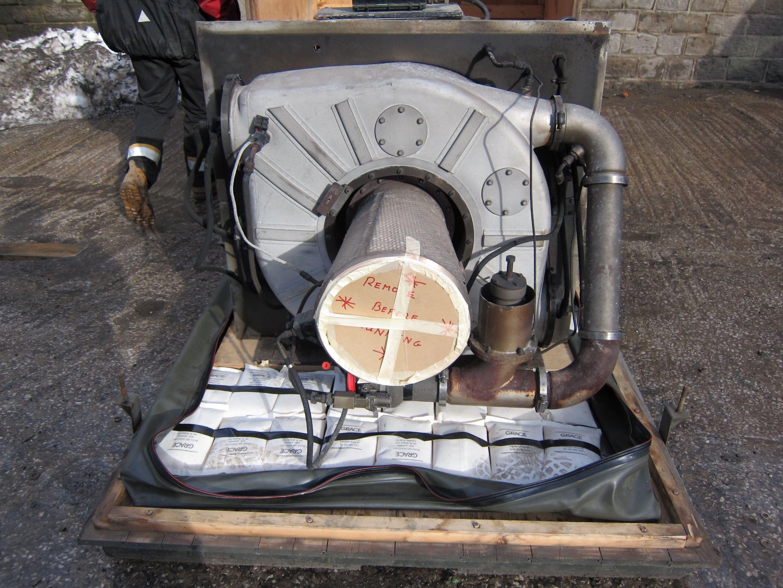 Air Starter – Stad 250 Gas Turbine Jet Engine Jet Engine Trader